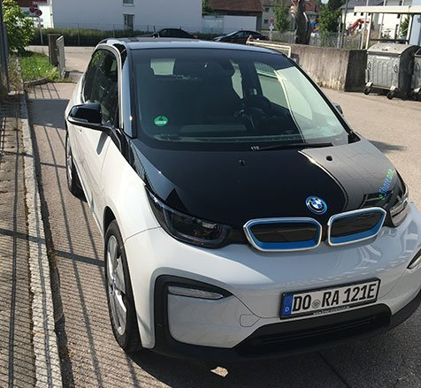 E-Carsharing Germering BMW i3